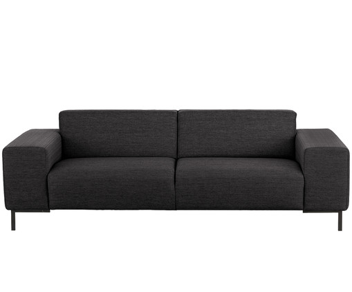 3 sitzer sofa savanna in schwarz westwingnow. Black Bedroom Furniture Sets. Home Design Ideas