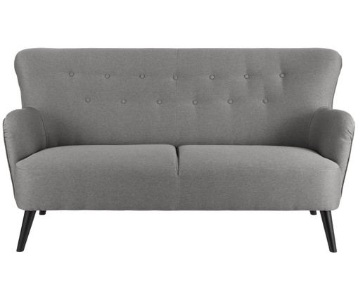 sofa twiggy 2 sitzer in grau westwingnow. Black Bedroom Furniture Sets. Home Design Ideas