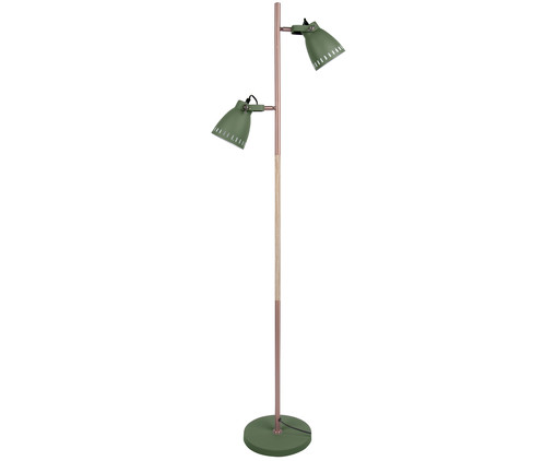 Lampada da terra Mingle W. Wood, Verde, rame
