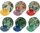 Set piatti Parrot Jungle, 18 pz.