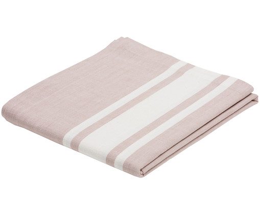 Nappe New French, Rose, blanc