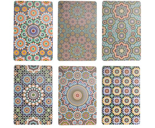 Set de manteles individuales Marrakech, 6 uds.., Multicolor