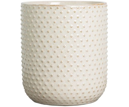 Porta vaso Mildred, Beige