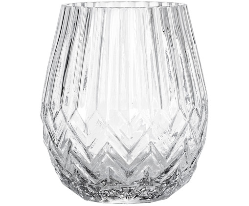 Vase Luna, Transparent