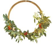 Wandobjekt Wreath