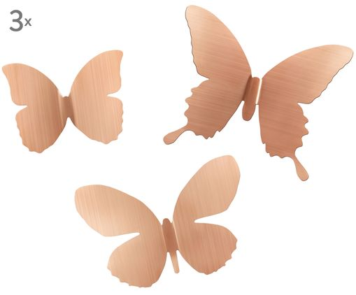 Set decorazioni  Mariposa, 9 pz., Dorato