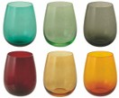 Set de vasos de agua Happy Hour, 6 pzas.